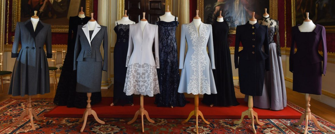 40th anniversary exhibition of Catherine Walker and Co's AW17 collection, from Catherine Walker and Co at Spencer House copy