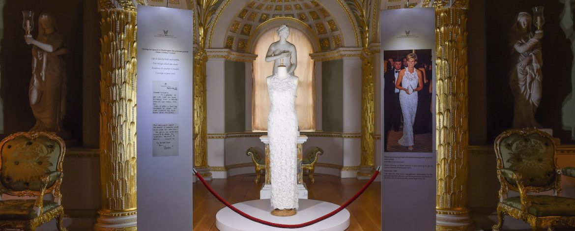 Couturier Catherine Walker and Co's 40th anniversary exhibition at Spencer House